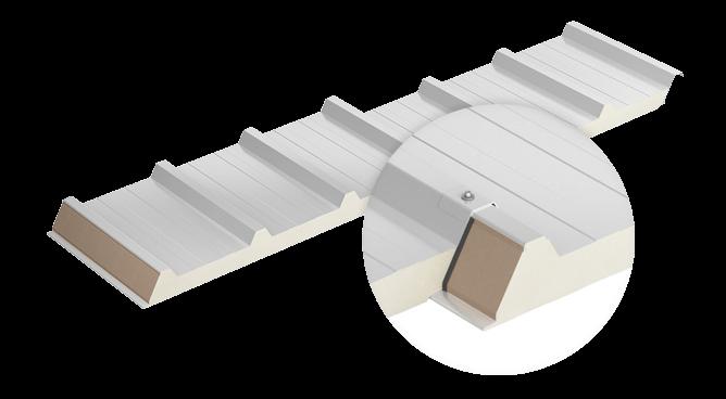 Profilacja płyt warstwowych dachowych