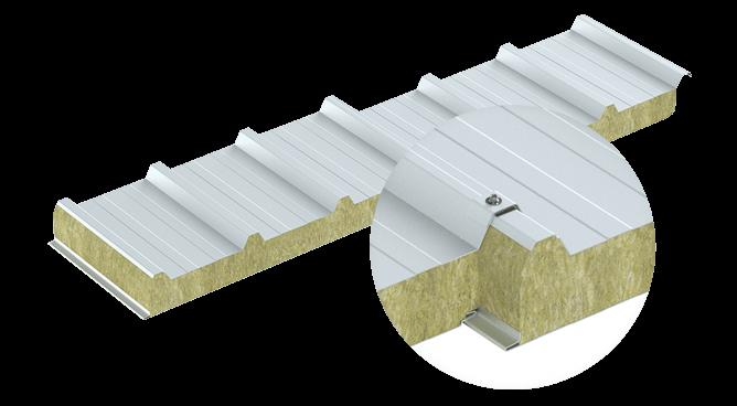 Profilacja trapezowa płyty dachowej